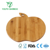 Apple Shape Bamboo Cutting Board