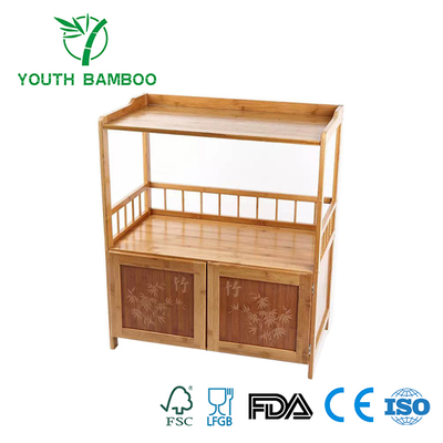 Bamboo Vintage Cabinet