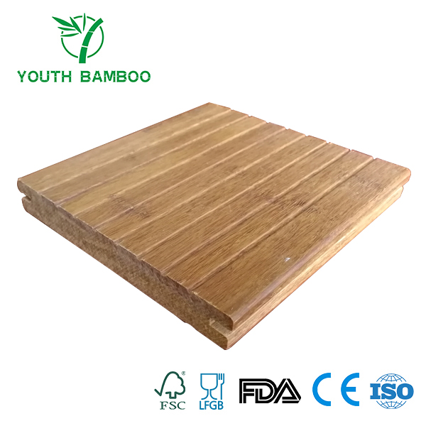 Carbonized Bamboo Outdoor Flooring Board