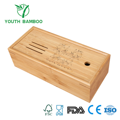 Bamboo Wire Container Box