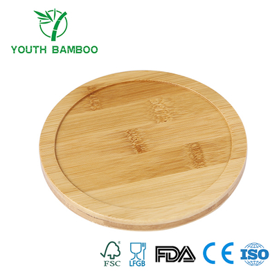 Bamboo Round Cup Lid