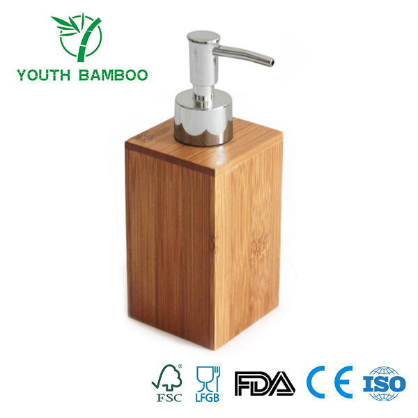 Bamboo Soap Dispenser